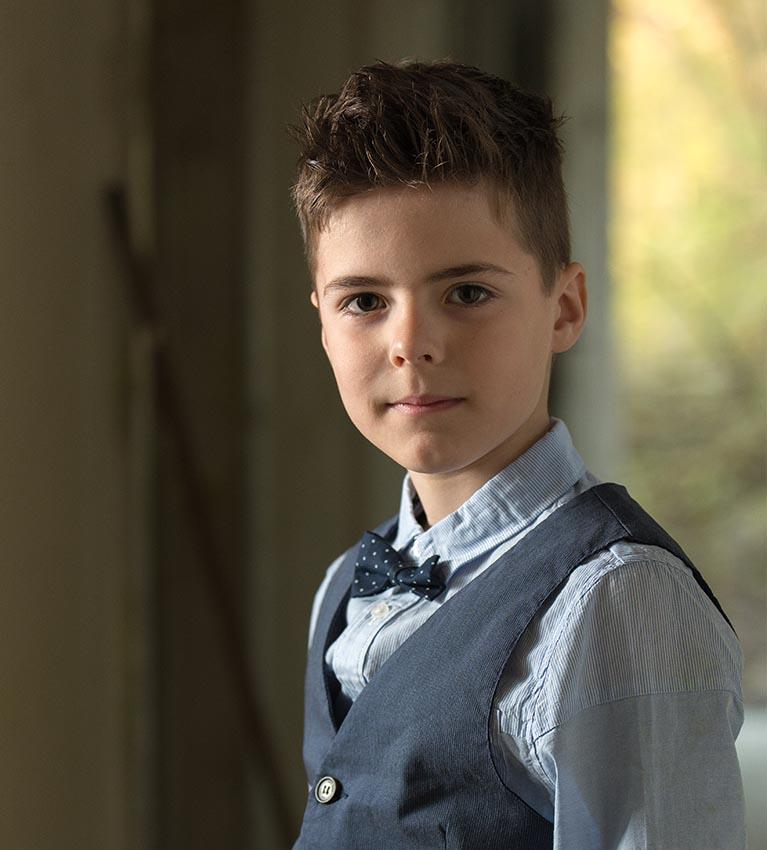 Communiefotografie jongen Vlaams Brabant